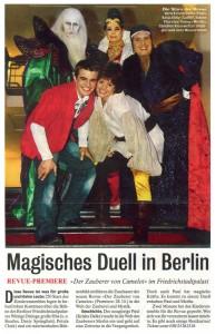 """""""Der Zauberer von Camelot"""" im Friedrichstadtpalast"""