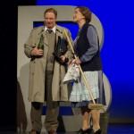 N. Zilz (Herr Schultz) und B. Pierags (Frl. Schneider)